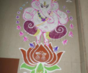 Rangoli: SRI PILLAIYAR SPECIAL