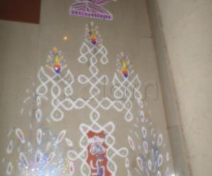 RANGOLI FOR HAPPY BIRTHDAY iKOLAM