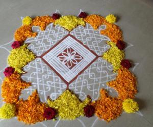 Rangoli: FLOWERS FUSION