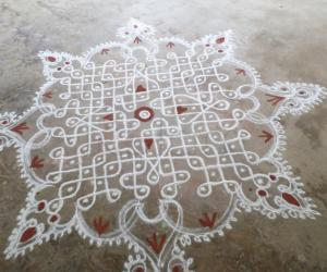 Rangoli: DASHAHARA DAY-7 CELEBS.