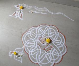 Rangoli: Naga Chathurthi & Garuda Panchami