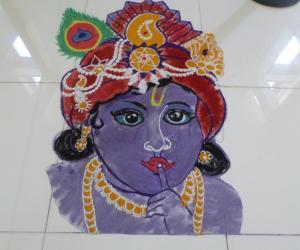 SRIKRISHNA ASHTAMI RANGOLI2017