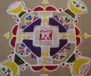 SriRam Navmi Special Rangoli