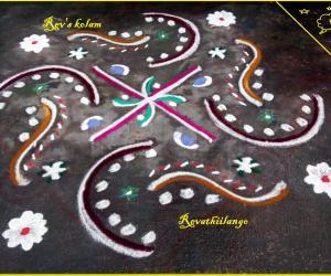 Rangoli: Rev's daily kolam 28.