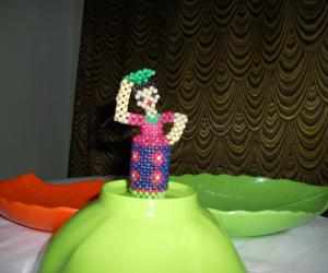 Doll made with mani.