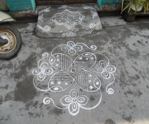 Daily kolam simple.
