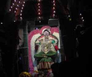 Rangoli: Lakshmi shower blessings to us on this day.