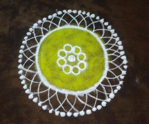 Rangoli: sweet n simple