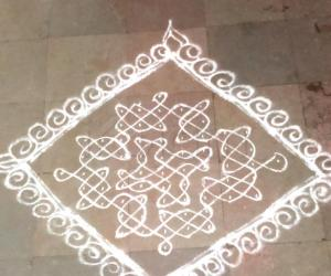 Tuesday kolam