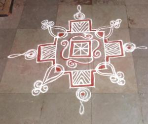 Tuesday paid kolam