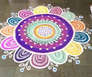 Diwali rangoli 1