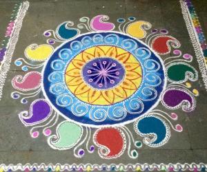 Diwali rangoli2