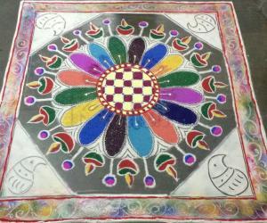 Diwali rangoli 3