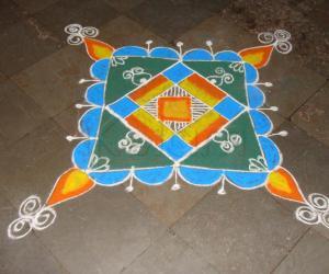 Navarathiri kolam