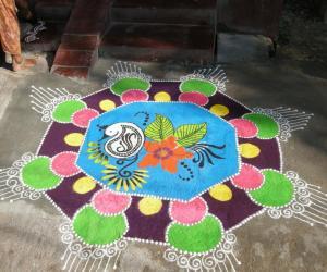 Rangoli: my rangoli