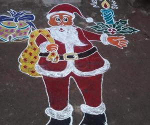 Rangoli: Happy x mas