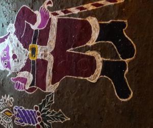 Rangoli: Happy Christmas