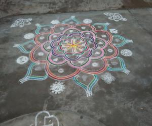 Rangoli: Tamil New Year