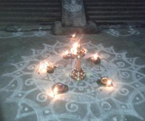 Rangoli: 4th akshaya tiruthiai kolam
