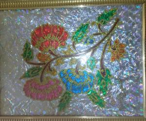my glass painting