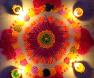 Karthigai Deepam special kolam 3