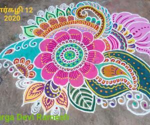 Marghazhi Special Henna design 2020 7