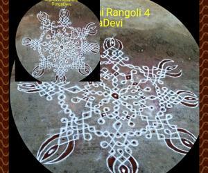 Rangoli: Marghazhi kolam day 4