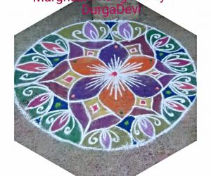 Rangoli: Marghazhi kolam day 6