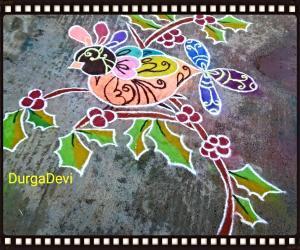 Rangoli: Marghazhi kolam day 15