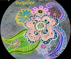Rangoli: Karthigai Deepam special kolam 25