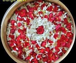 Rangoli: Flower Arrangement  by DD