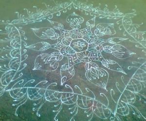 Rangoli: margazhi dewdrop contest 2016
