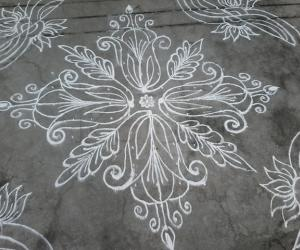 Daily ....Dotted kolam
