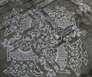 Rangoli: dhanurmaasam day 13...