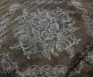 Rangoli: Dhanurmaasam day4...