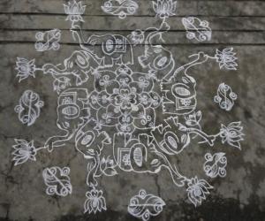 Rangoli: Dhanurmaasam day 13..