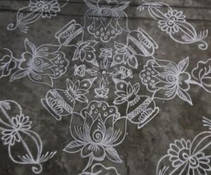 Rangoli: Lotus...