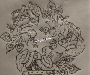 Rangoli: Happy janmastami