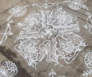 Rangoli: Happy Sri ramnavami