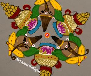 Rangoli: Happy tamil newyear..