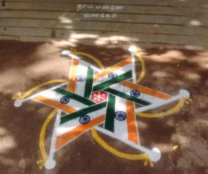 Rangoli: INDEPENDENCE DAY!!!