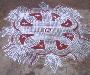 Rangoli: fridaykolam