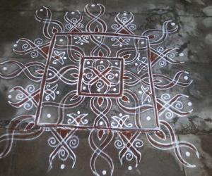 Rangoli: My freehand rangoli