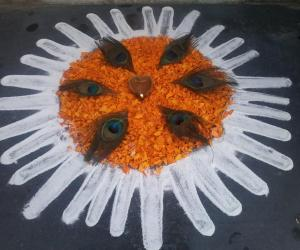 Krishna Jayanthi  kutti kolam!