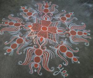 Navarathri Special! Day-6 Orange!!