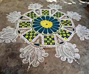 Margazhi kolam day-21