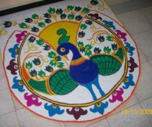 Rangoli: Diwali Rangoli 2009