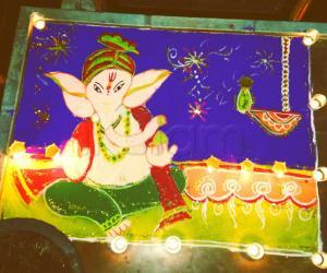 Rangoli: diwali 2013 - dhanteras day