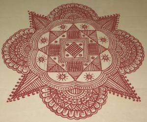 Rangoli: Margazhi Kolam-10