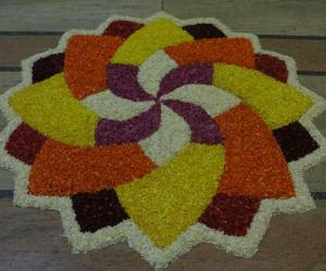 Rangoli: Onam Celebrations 2014